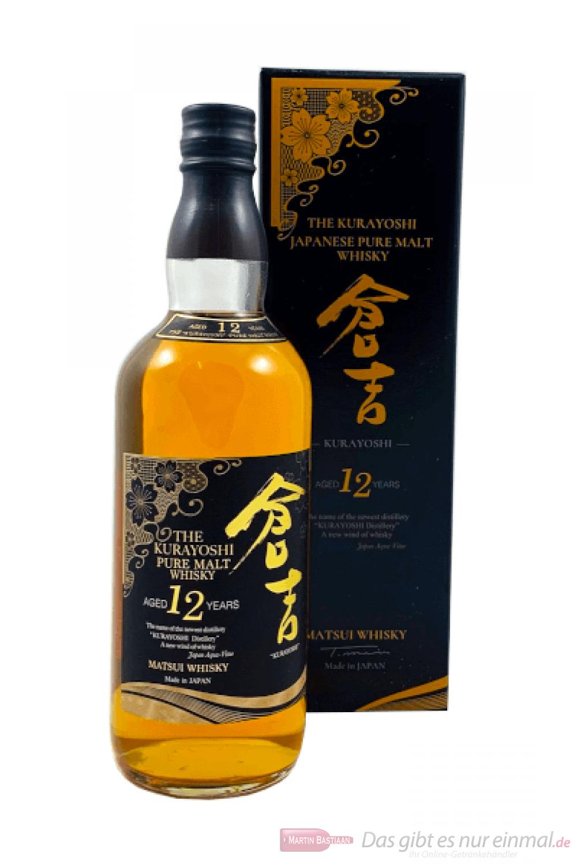 The Kurayoshi 12 Years Pure Malt Japanese Whisky 0,7l