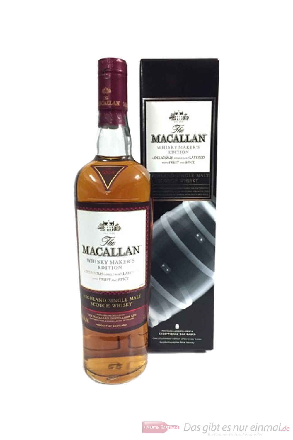 The Macallan Whisky Maker´s Edition Exceptional Oak Casks