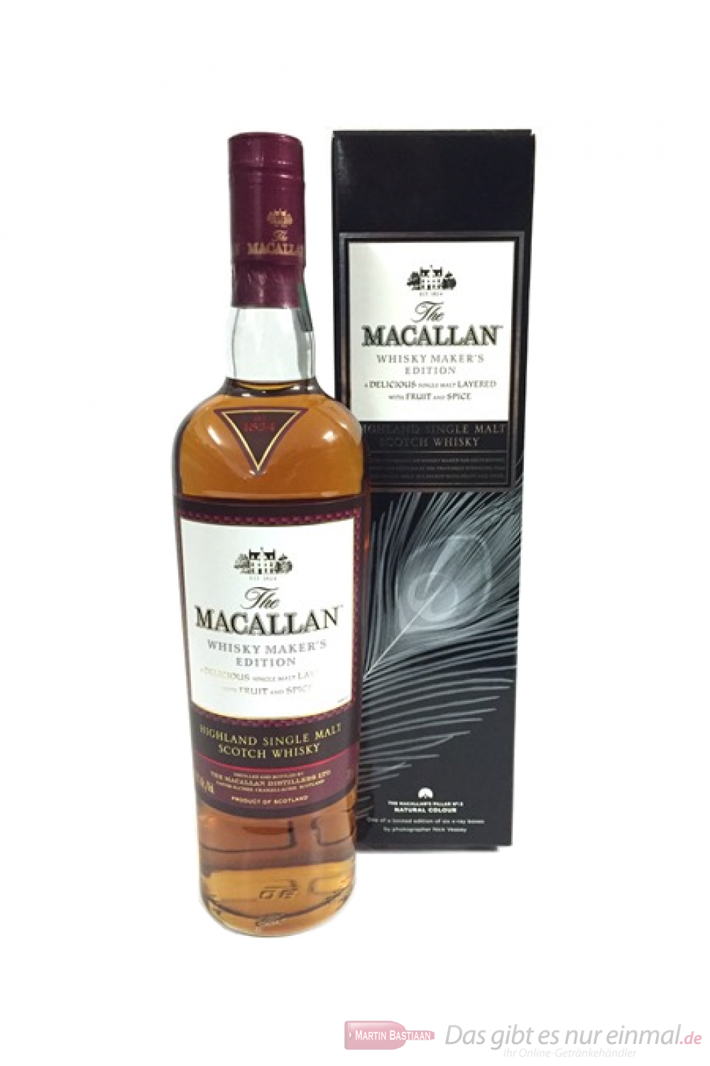 The Macallan Whisky Maker´s Edition Natural Colour