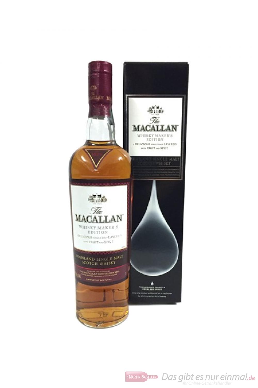 The Macallan Whisky Maker´s Edition Peerless Spirit