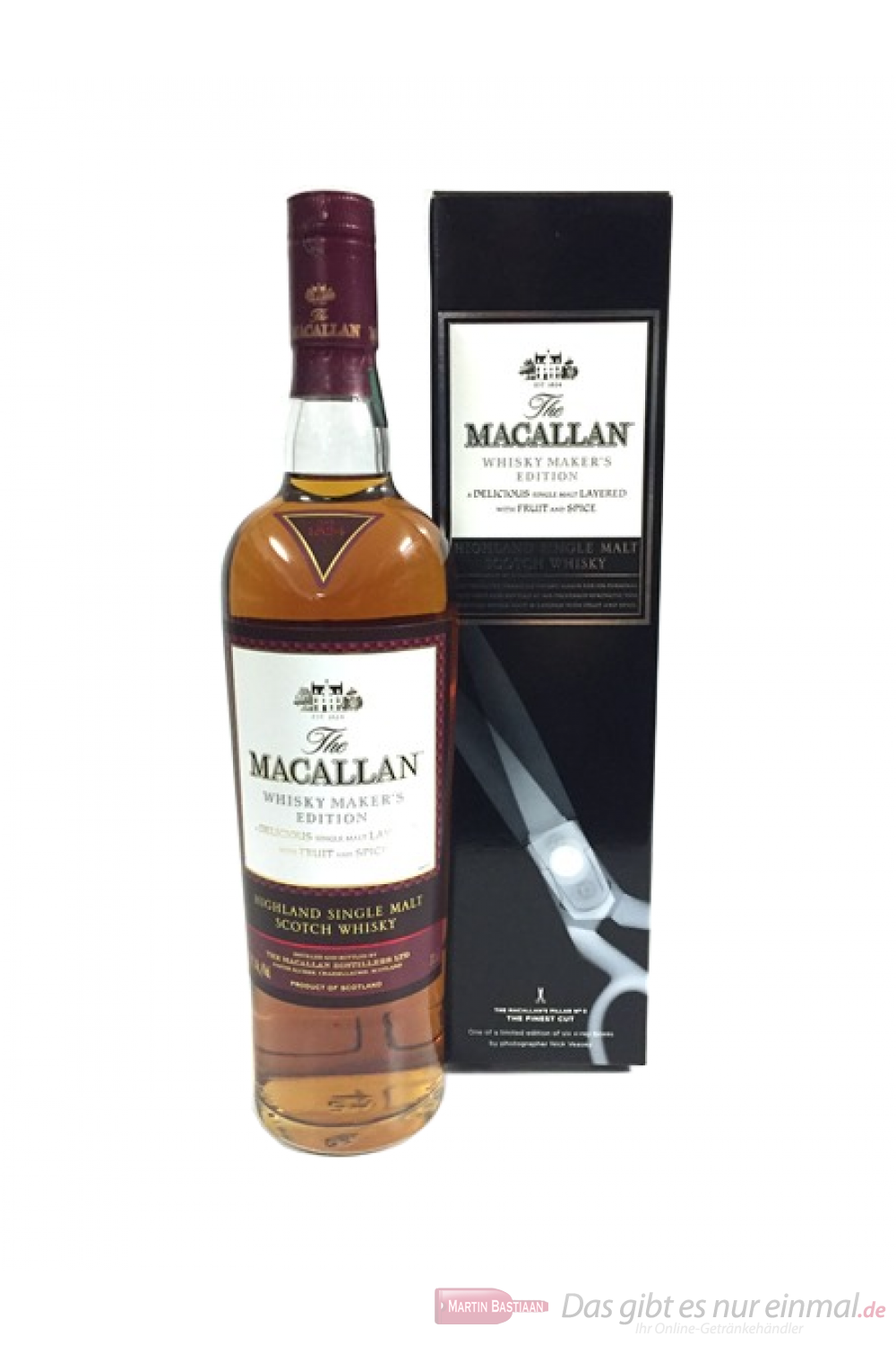 The Macallan Whisky Maker´s Edition The Finest Cut