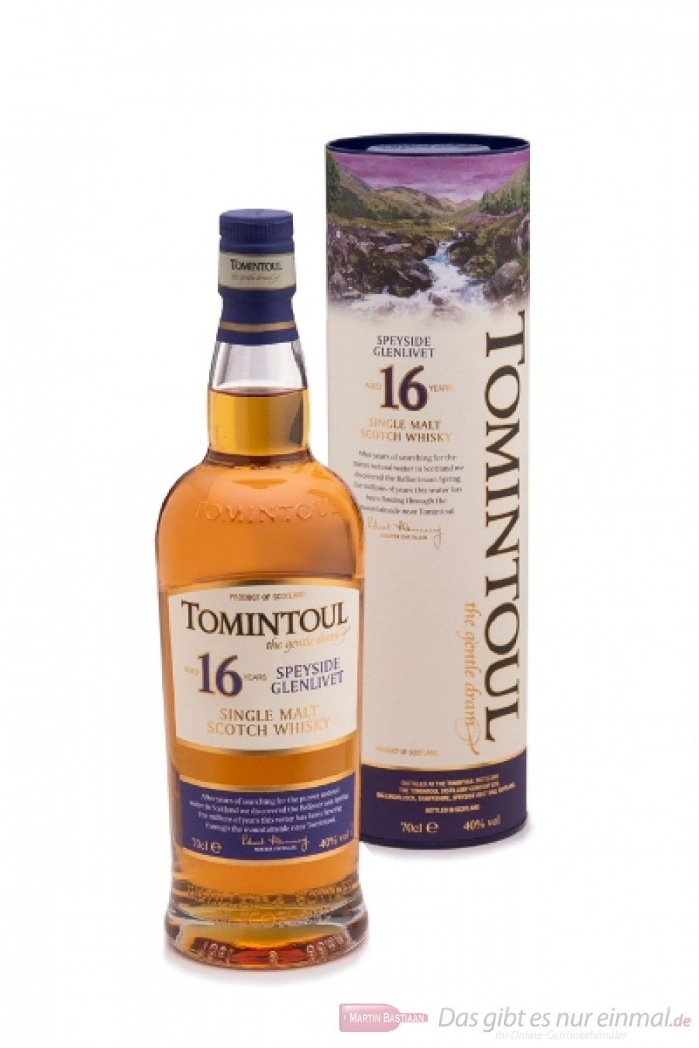 Tomintoul 16 Years