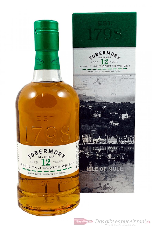 Tobermory 12 Years Single Malt Scotch Whisky 0,7l