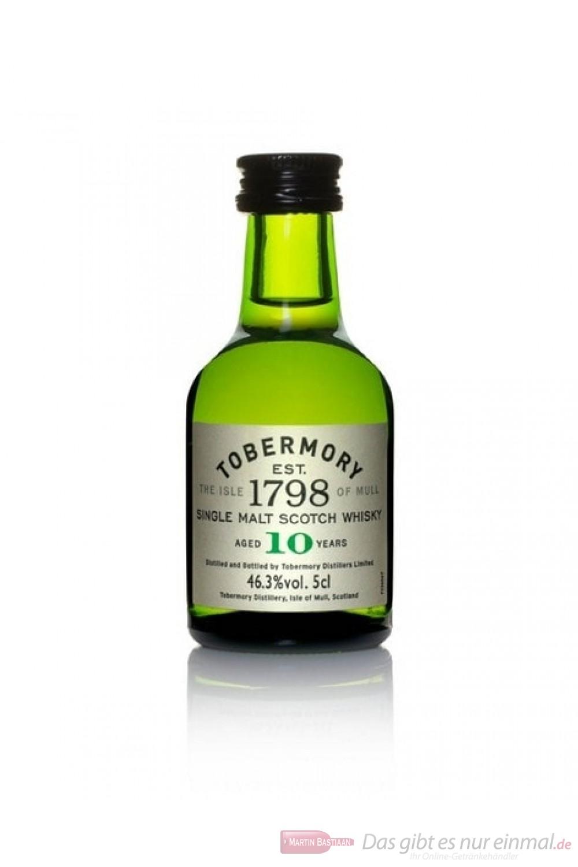 Tobermory 10 Years Single Malt Scotch Whisky 0,05l