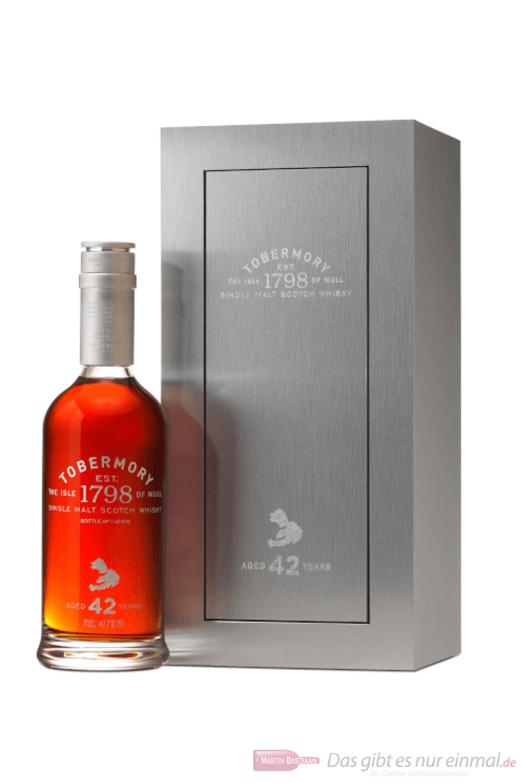 Tobermory 42 Years Single Malt Scotch Whisky 0,7l