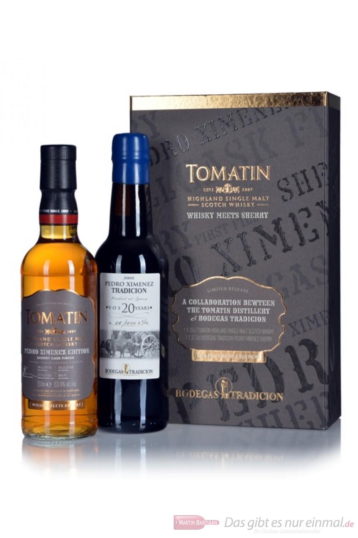 Tomatin Whisky Sherry Pedro Ximenez Set