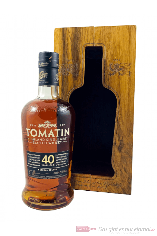 Tomatin 40 Years Single Malt Scotch Whisky 0,7l