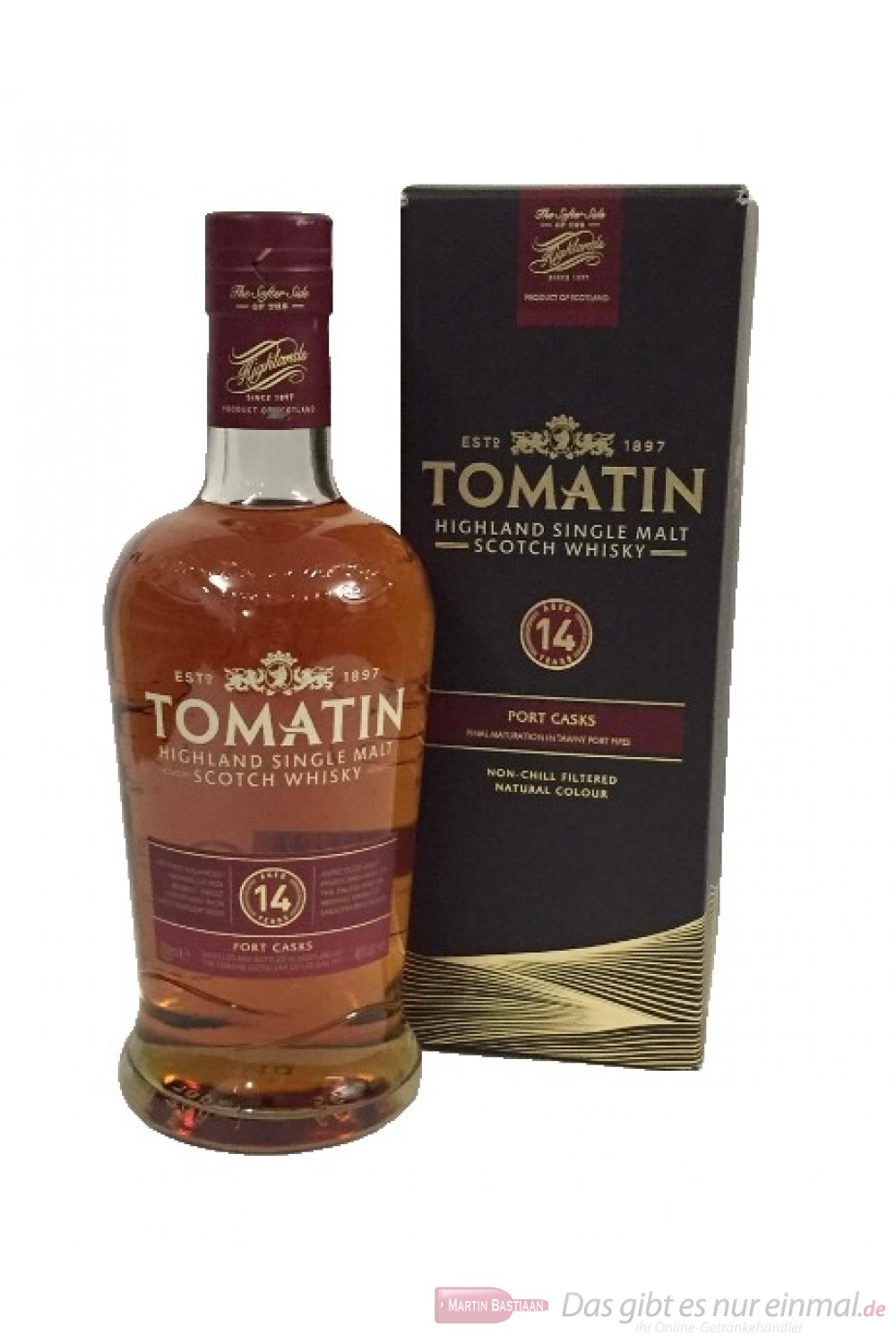 Tomatin 14 Years Port Cask
