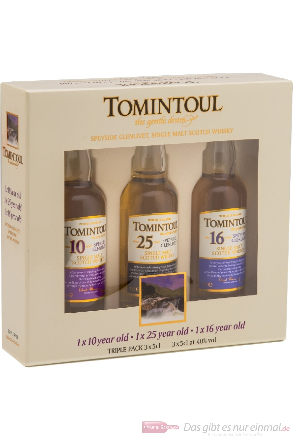 Tomintoul Tri - Pack