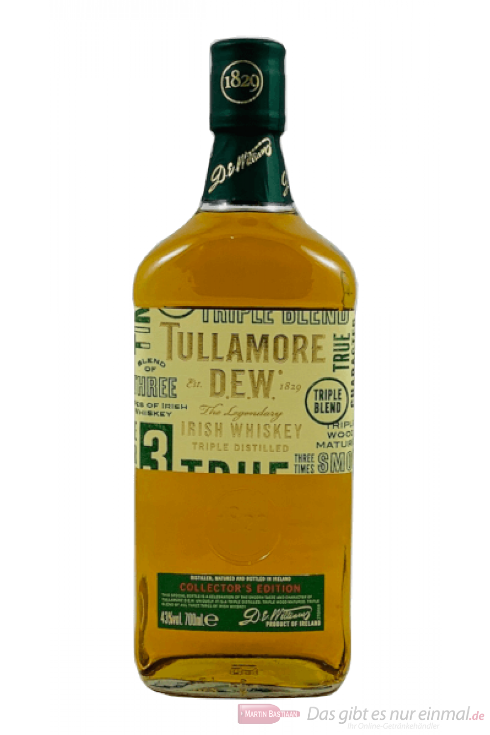 Tullamore Dew Limited Edition Irish Whiskey 0,7l