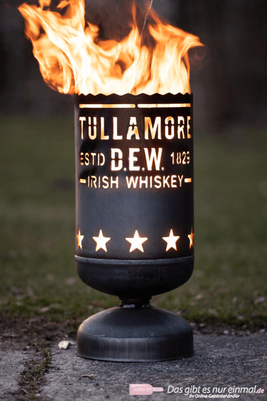Tullamore Dew Whiskey Feuerkorb