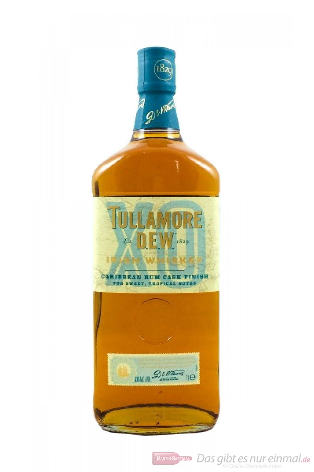 Tullamore Dew XO Irish Whiskey 1,0l