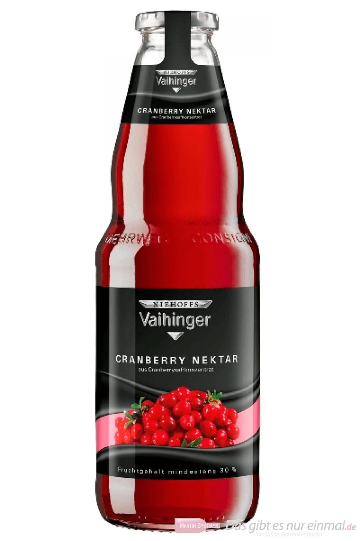 Vaihinger Cranberry Nektar 1,0l