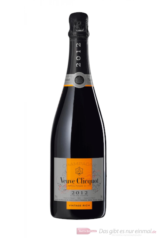 Veuve Clicquot Vintage Rich Champagner 2012 0,75l
