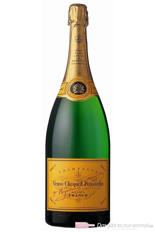 Veuve Clicquot Brut Champagner 12% 0,375l Flasche