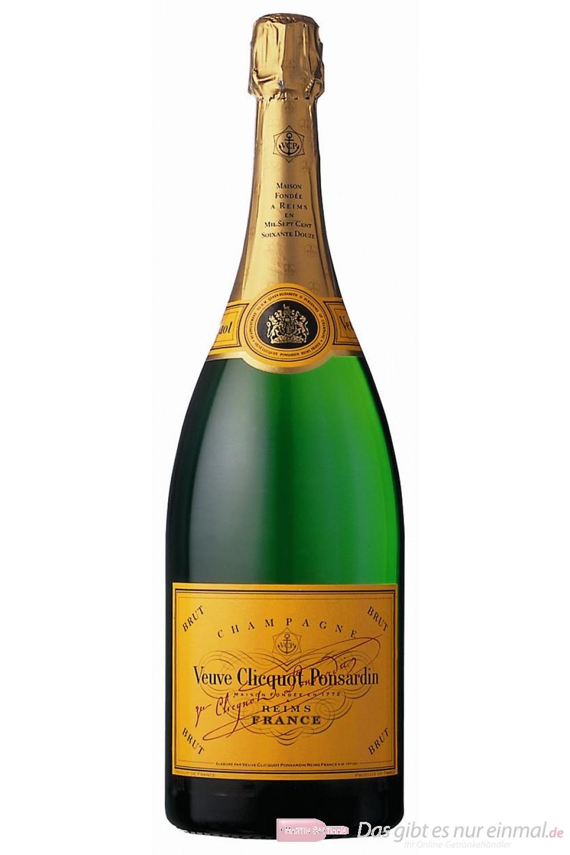 Veuve Clicquot Champagner Brut 12 % 1,5 l. Magnum Flasche