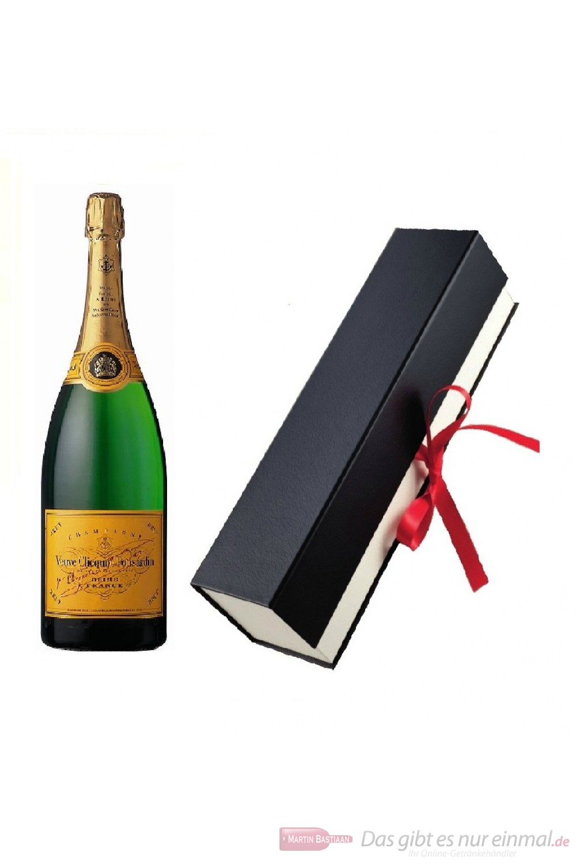 Veuve Clicquot in hochwertiger Geschenkfaltschachtel