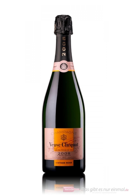 Veuve Clicquot Champagner Rosé Vintage 2008
