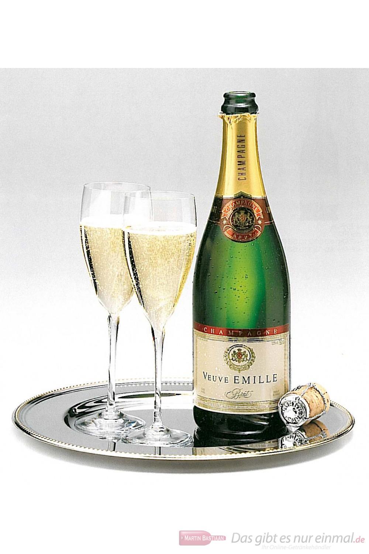 Veuve Emille Champagner Brut 12 % 0,75 l Flasche
