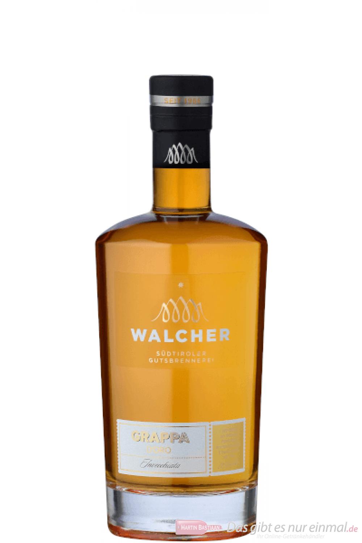 Walcher Grappa d'Oro Riserva 0,7l