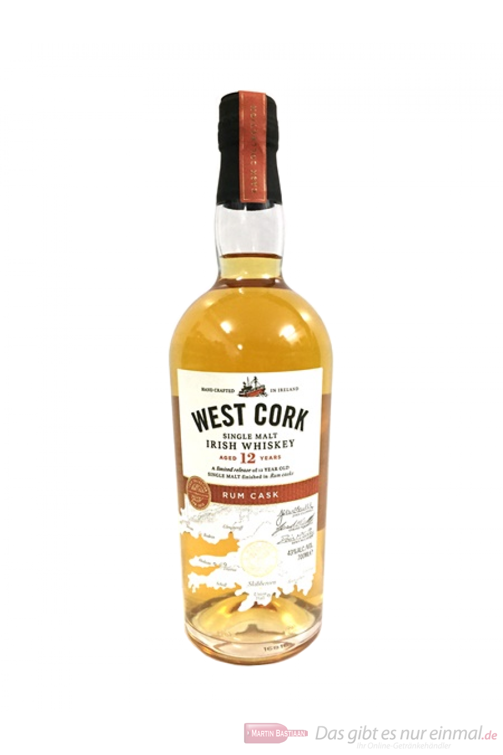 West Cork 12 Years Rum Cask Finish