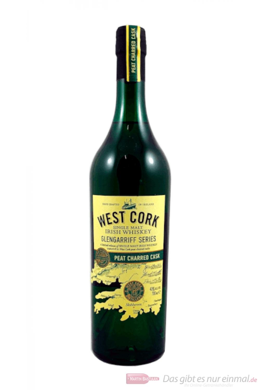 West Cork Glengarrif Peat Charred Single Malt Irish Whiskey 0,7l
