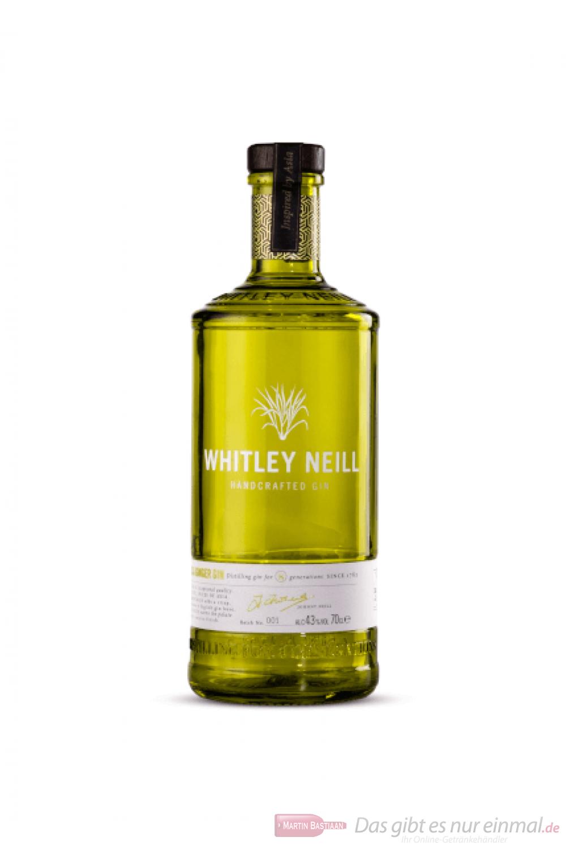 Whitley Neill Lemongrass & Ginger Gin 0,7l