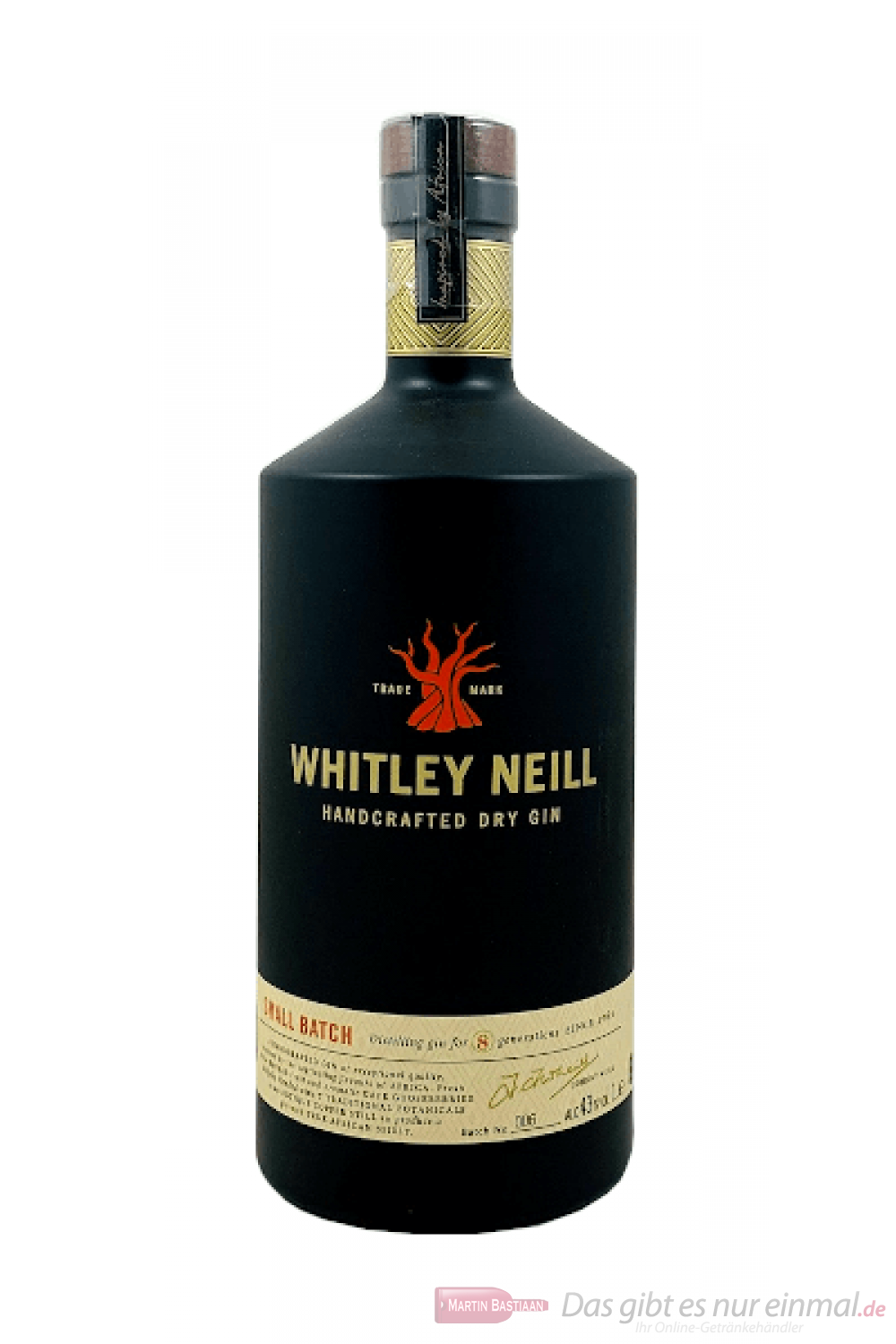Whitley Neill Small Batch London Dry Gin 1,0l