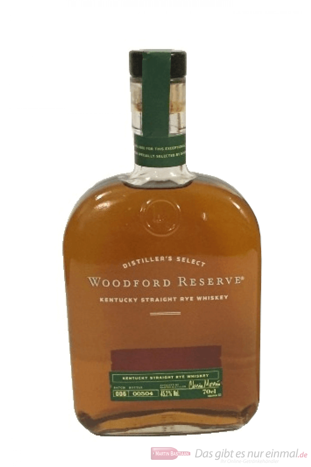 Woodford Reserve Rye Kentucky Straight Whiskey 0,7l