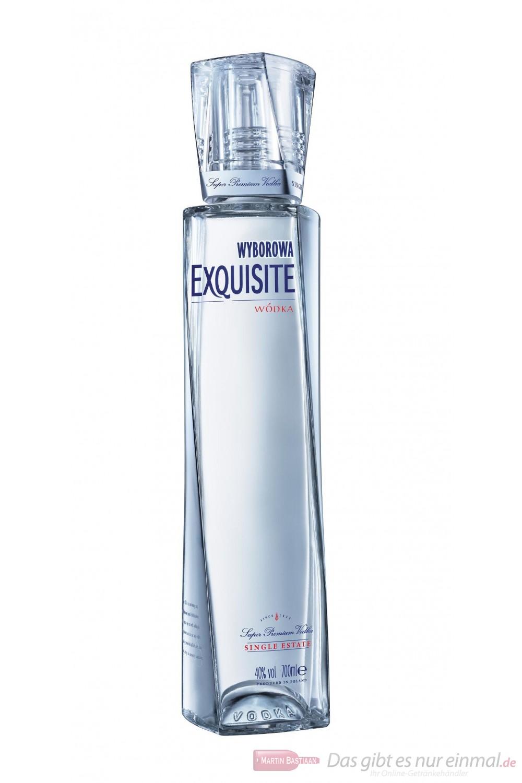 Wyborowa Exquisite Wodka 40% 0,7l Flasche