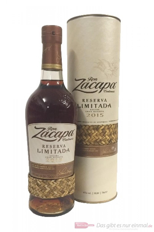 Ron Zacapa Reserva Limitada 2015