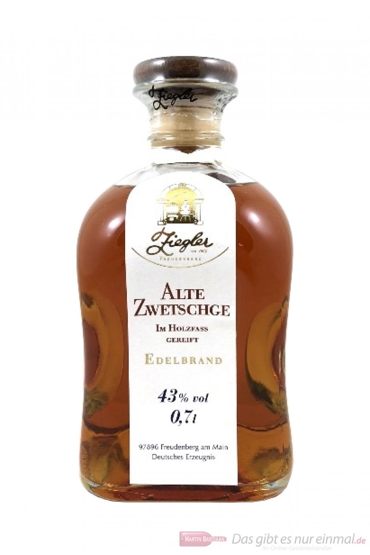 Ziegler Obstbrand Alte Zwetschge