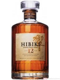 Hibiki 12 Years japanischer Blended Whisky 0,7l