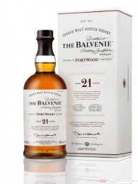 Balvenie 21 years Port Wood Finish Single Malt Scotch Whisky 0,7l