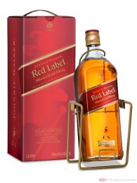 Johnnie Walker Red Label mit Wippe Blended Scotch Whisky 3l