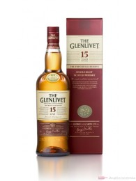 The Glenlivet 15 years Highland Single Malt Scotch Whisky 0,7l