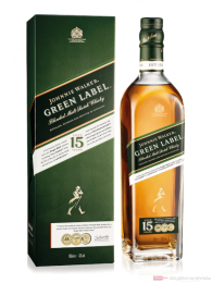 Johnnie Walker Green Label Blended Scotch Whisky 0,7l