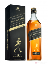 Johnnie Walker Black Label Blended Scotch Whisky 0,7l