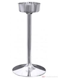 Contacto Sektkühlerständer aus Edelstahl 19,6 x 60 cm