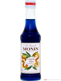 Monin Blue Curacao Sirup 0,25l
