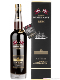 A. H. Riise Danish Navy Rum 0,7l