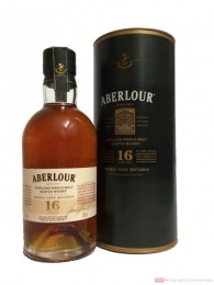 Aberlour 16 Years Double Cask Matured Single Malt Scotch Whisky 0,7l