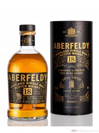 Aberfeldy 18 Years Cote Rotie Red Wine Cask Finish Single Malt Scotch Whisky 0,7l