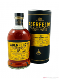 Aberfeldy 20 Years Exceptional Cask Double Cask Sherry Finished Whisky 0,7l