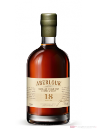 Aberlour 18 Years Highland Single Malt Scotch Whisky 0,5l