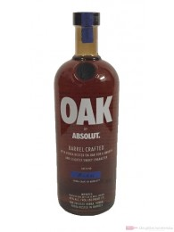 Absolut Oak Barrel Craftet Vodka 1,0l