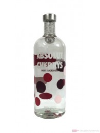 Absolut Cherrys Vodka 1,0l Flasche