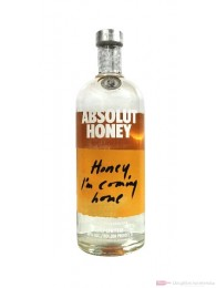 Absolut Honey Vodka 1,0l Flasche