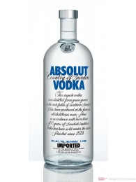 Absolut Vodka 3l Großflasche