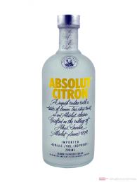 Absolut Vodka Citron Zitrone 0,7l